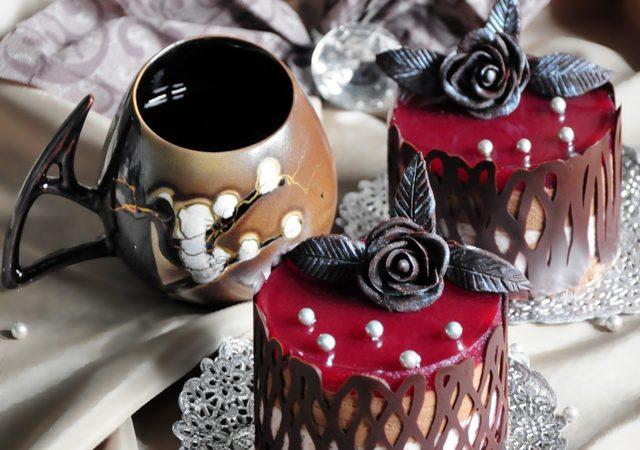 шоколадные пироженые